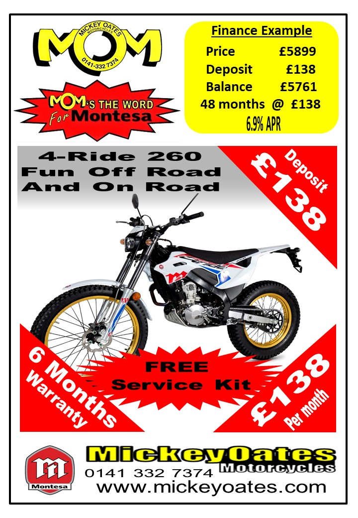 NEW MONTESA 4-RIDE