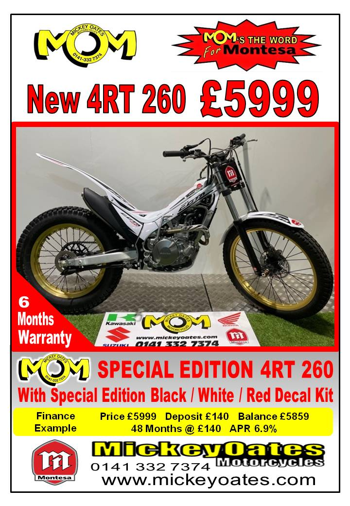 MONTESA 4RT 260 Special edition