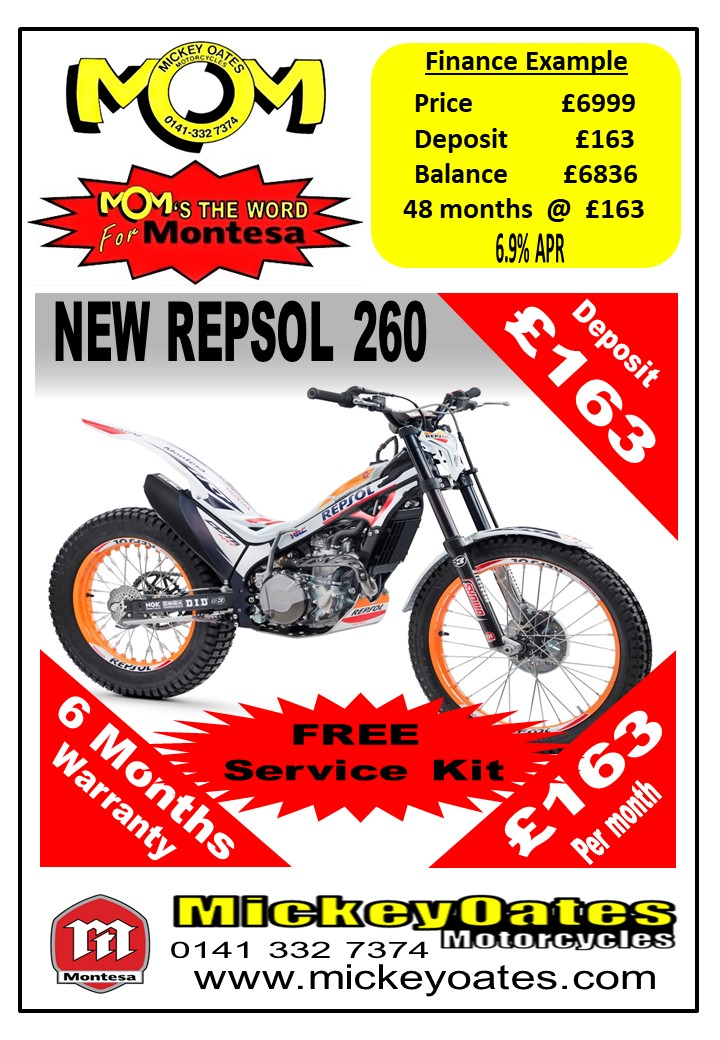 NEW MONTESA REPSOL 260
